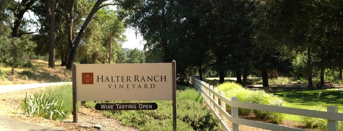 Halter Ranch Vineyard is one of Central Coast.