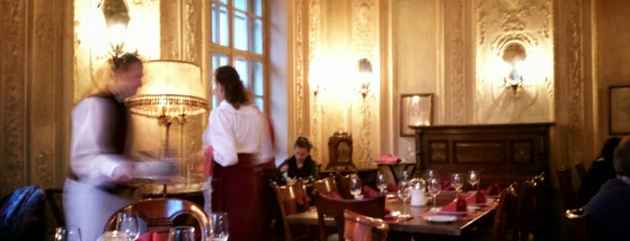 Cafe Pushkin is one of Russia.