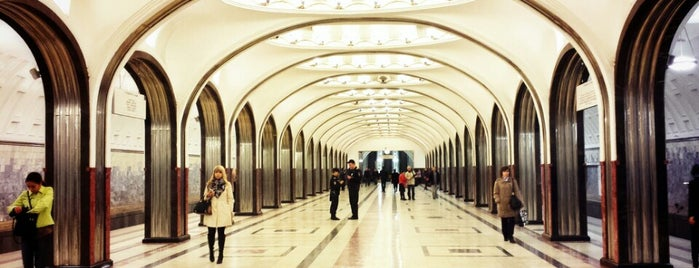 metro Mayakovskaya is one of Russia.
