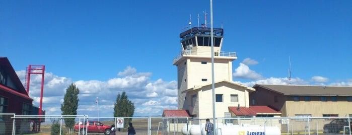 Aeropuerto Balmaceda (BBA) is one of Locais curtidos por Sechu.