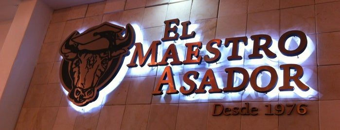 El Maestro Asador is one of Restaurantes.