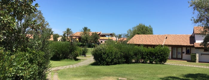 Hotel Residence Liscia Eldi is one of Tempat yang Disukai Sevil.