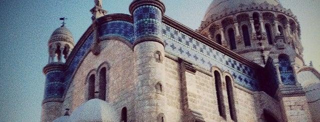 Cathédrale Notre-Dame d'Afrique is one of Orte, die ♏️UTLU gefallen.