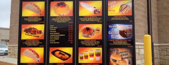 Taco Casa is one of สถานที่ที่บันทึกไว้ของ Droo.