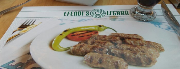 Efendi's Izgara is one of Best Places.