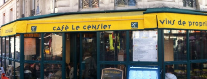 Café Censier is one of Nadir Ç.さんのお気に入りスポット.