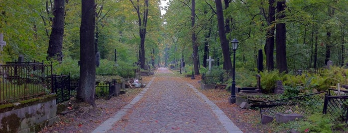 Смоленское лютеранское кладбище is one of Gespeicherte Orte von Alexandr.