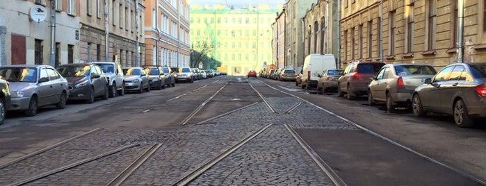Дегтярная улица is one of Леночка 님이 좋아한 장소.
