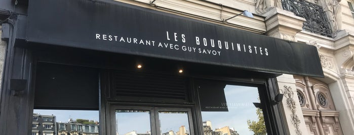 Les Bouquinistes is one of PARIS - Food.