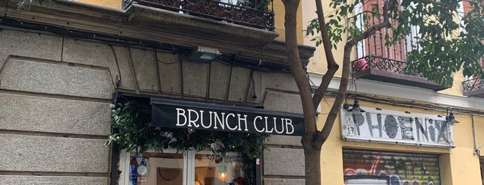 The Brunch Club is one of Madrid.