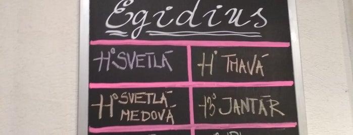 Egidius Brewery is one of Słowacja.