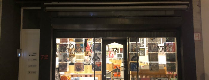 72 records is one of worldwide record stores..
