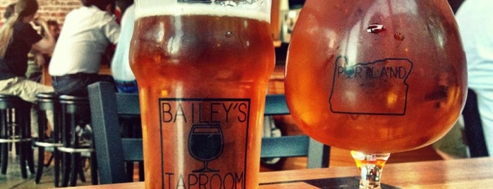 Bailey's Taproom is one of Portland.