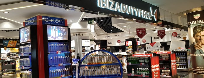 Ibiza Duty Free is one of Ibiza EDM Summer.