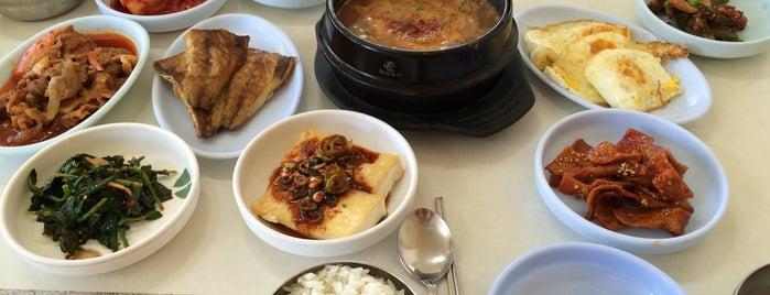 대명식당 is one of Korean food.