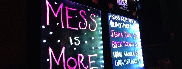 Mess is one of Recomendaciones de una Mariposa Nocturna.