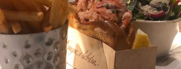 Burger & Lobster is one of Lugares guardados de Lizzie.