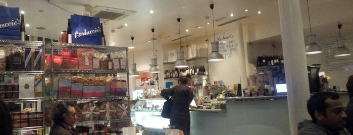 Carluccio's is one of Gluten free London.