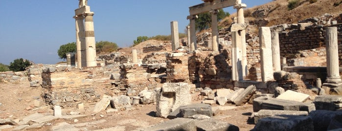 Prythenion Epheus is one of Kuşadası.