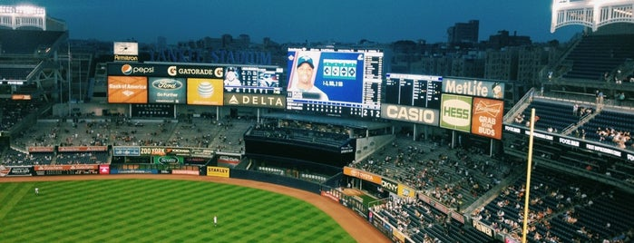 Yankee Stadium is one of New York City.