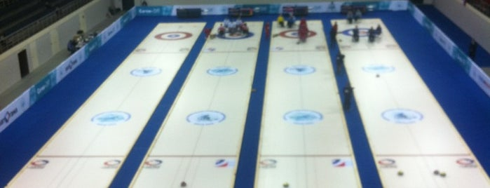 Ice Cube Curling Center is one of Сочи \ Sochi.