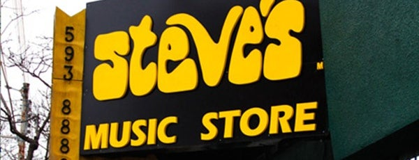 Steve's Music Store is one of Where to hang out at Queen St. W., Toronto.