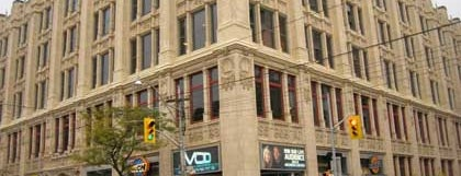 MuchMusic HQ is one of Where to hang out at Queen St. W., Toronto.