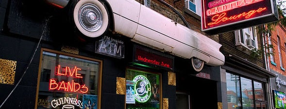 Cadillac Lounge is one of Where to hang out at Queen St. W., Toronto.