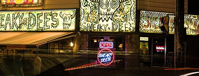 Sneaky Dee's Restaurant & Concert Venue is one of Where to hang out at Queen St. W., Toronto.