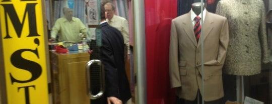 Sam's Tailor is one of SmartTrip в Гонконг с Рауль Дюком.