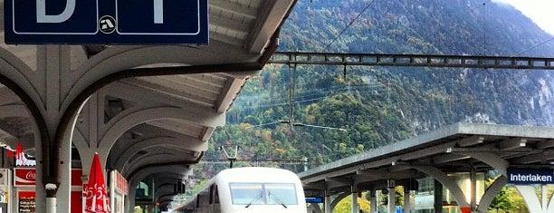 Bahnhof Interlaken West is one of Orte, die Victoria gefallen.