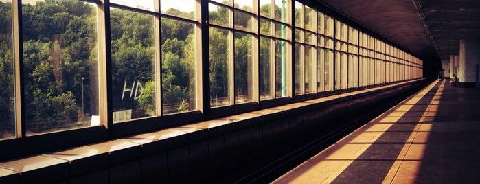 Выставка в метро Воробьевы горы is one of Ivanさんのお気に入りスポット.
