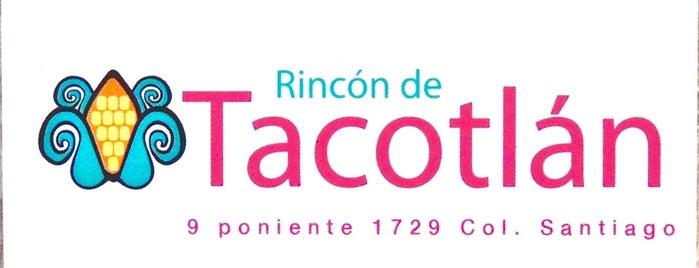 El Rincón de Tacotlán is one of mexico.