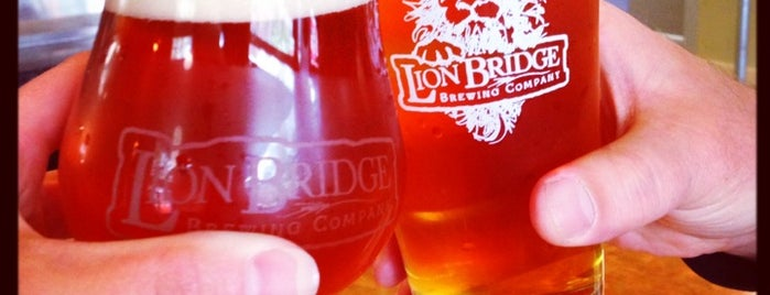 Lion Bridge Brewing Company is one of Find the Source.