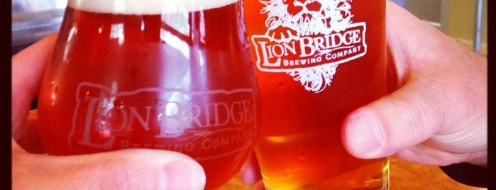 Lion Bridge Brewing Company is one of Iowa.