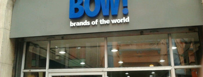Bow. Brands of the world is one of Santiago Centro 2.