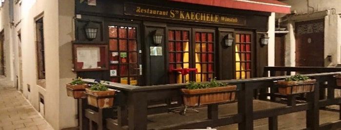 Winstub S'Kaechele is one of Essen / Trinken non-D.