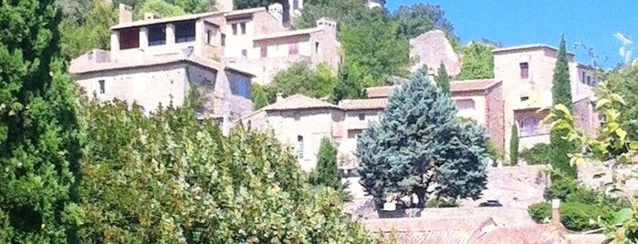 La Roque-sur-cèze is one of Les plus beaux villages de France.