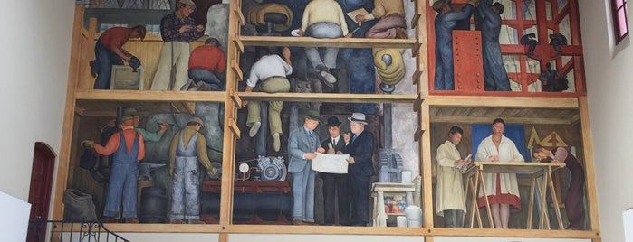 Diego Rivera Mural is one of San Francisco Dos.
