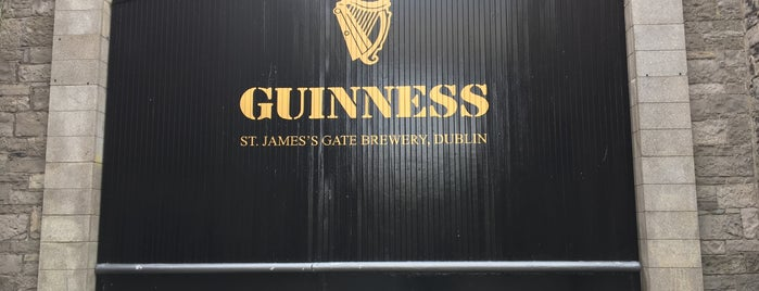 The Guiness Academy is one of Ireland Eats.