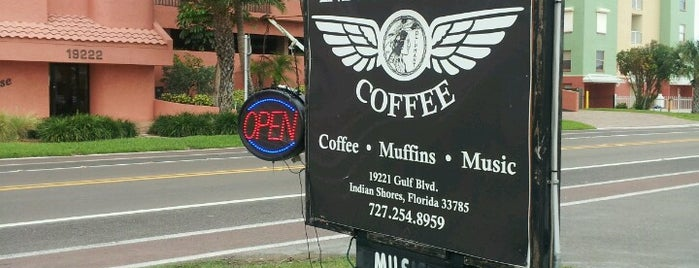 Indian Shores Coffee Co. is one of Florida 2018.