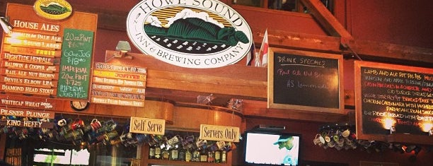 Howe Sound Inn and Brewing Company is one of Squamish.