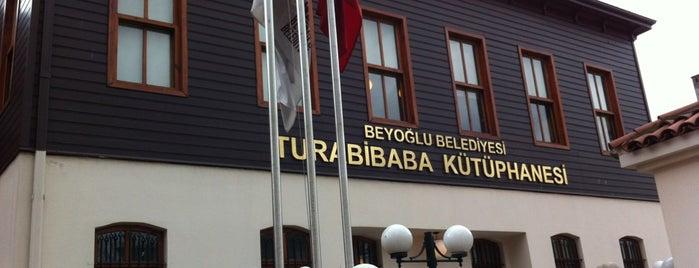 Turabi Baba Kütüphanesi ve Bilgi Erişim Merkezi is one of Selimさんのお気に入りスポット.