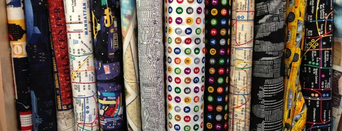 The City Quilter is one of Crafty NYC.