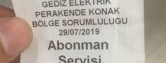 Gediz Elektrik is one of hamza'nın Beğendiği Mekanlar.