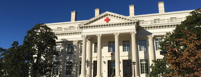 American Red Cross National Headquarters is one of Washington DC.