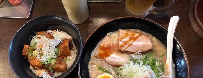 麺屋七福神 堀川御池店 is one of Locais curtidos por Yodpha.