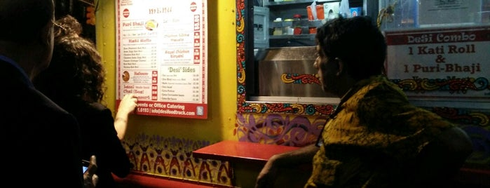 Desi Food Truck is one of New York's Best Food Trucks.