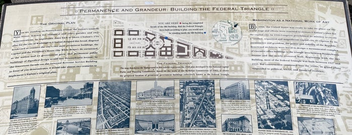 The Federal Triangle is one of Trip To Washington DC.