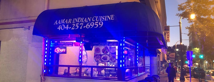 Aamar Indian Cuisine is one of Wendy'in Beğendiği Mekanlar.